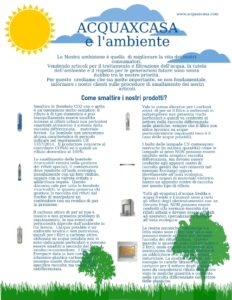 smaltimento bombole co2 e filtri everpure