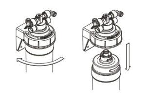 filtri per acqua profine sostituzione
