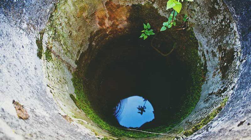 acqua di pozzo per uso domestico
